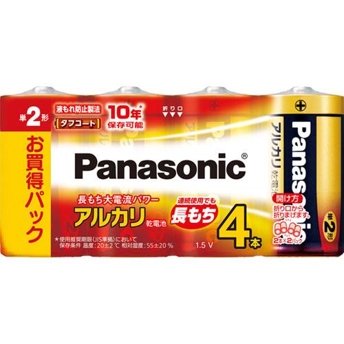 パナソニック LR14XJ/4SW [アルカリ乾電池単二4本シュリンクパック]