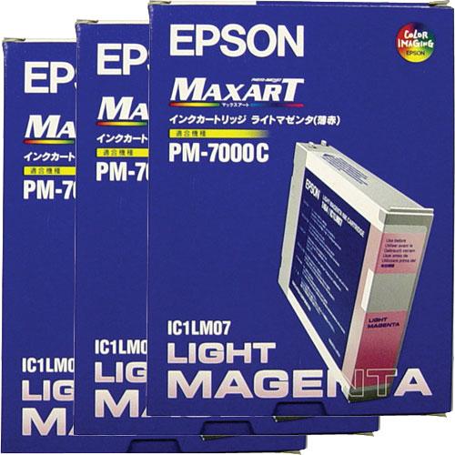 エプソン IC1LM073P [インクカートリッジ ライトマゼンダ 3個入り]