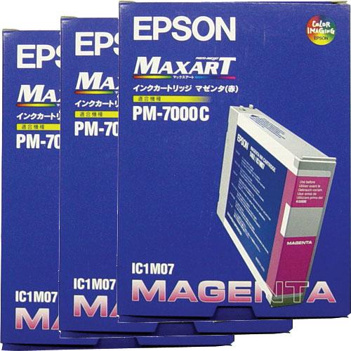 エプソン IC1M073P [インクカートリッジ マゼンダ 3個入り]