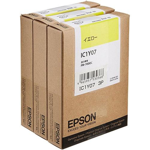 エプソン IC1Y073P [インクカートリッジ イエロー 3個入り]