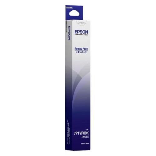 エプソン #7755 [7P1VP80K リボンパック黒VP-1700/1600/1500他用]