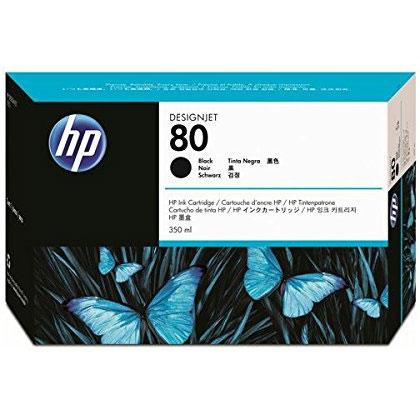 HP C4871A [HP 80 インクカートリッジ 黒350ml]