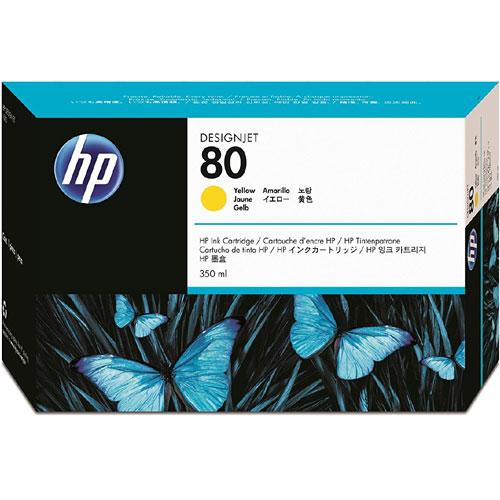 HP C4848A [HP 80 インクカートリッジ イエロー350ml]