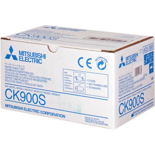 三菱電機 CK900S [Sサイズ200枚(インク/用紙)]