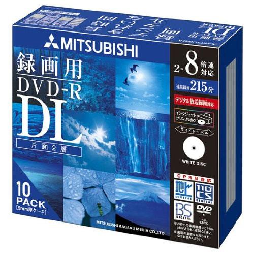 VHR21HDSP10 [DVD-R 8.5GB ビデオ録画 DL8倍速 10プリンタブル]