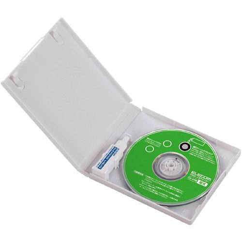 エレコム CK-DVD8 [DVDレンズクリーナー(湿式 超強力クリーニング)]
