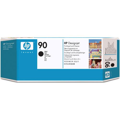 HP C5054A [HP90 インクヘッド/クリーナー 黒]
