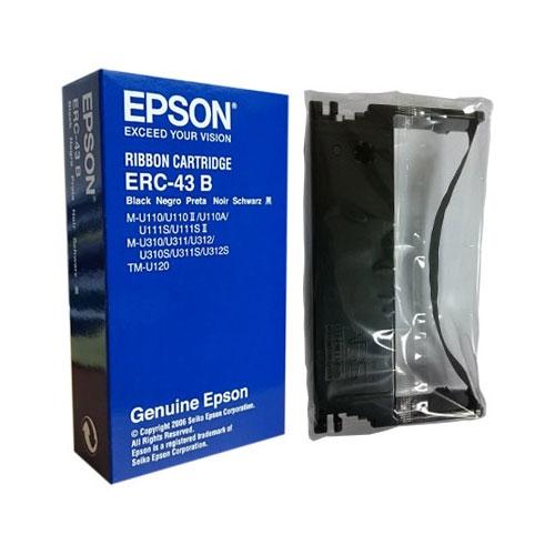 エプソン ERC-43B [ミニプリンター用リボンカセット(黒)]