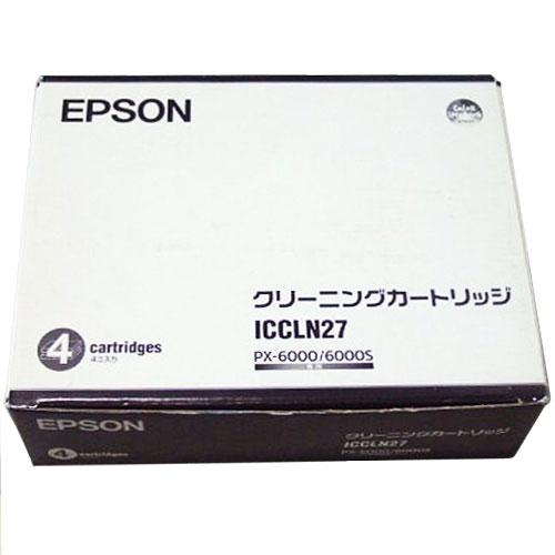 エプソン ICCLN27 [クリーニングカートリッジ]