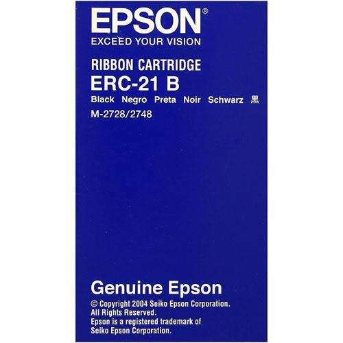 エプソン ERC-21B [ミニプリンタ用リボンカセット(クロ)]