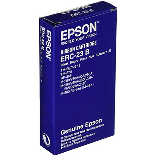 エプソン ERC-23B [ミニプリンター用リボンカセット(黒)]