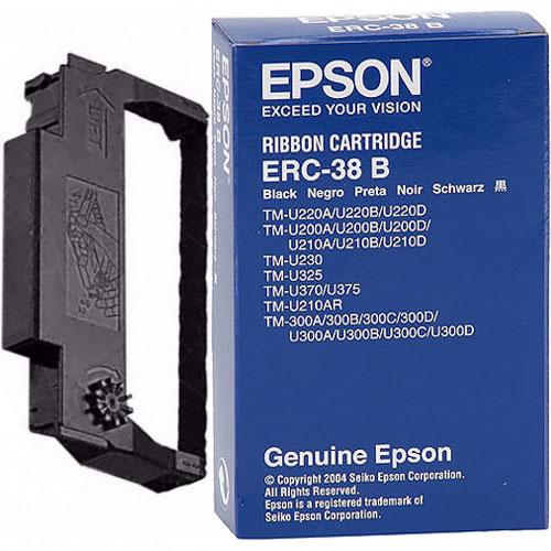 エプソン ERC-38B [ミニプリンター用リボンカセット(黒)]