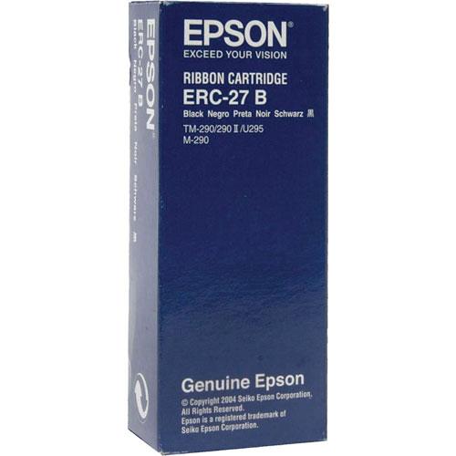 エプソン ERC-27B [ミニプリンタ用リボンカセット(クロ)]