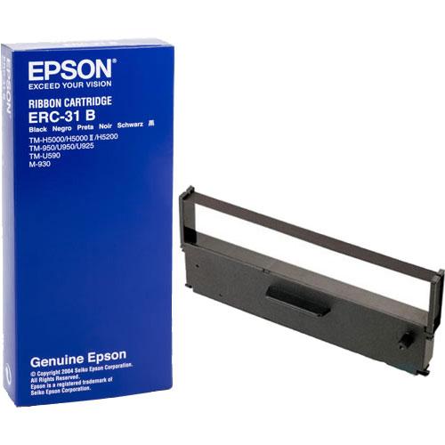 エプソン ERC-31B [ミニプリンター用リボンカセット(黒)]