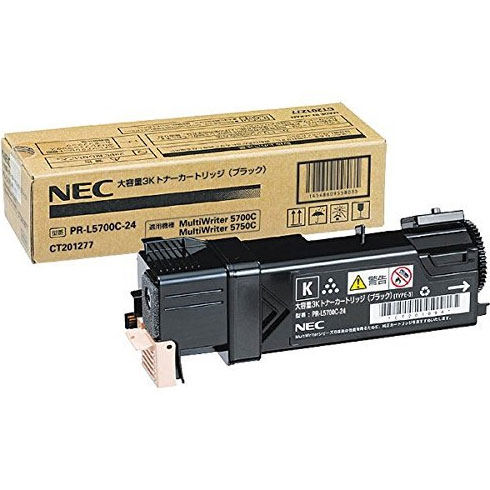 NEC PR-L5700C-24 [大容量3Kトナーカートリッジ(ブラック)]