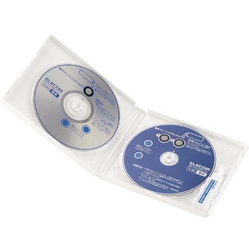 エレコム CK-BRP [ブルーレイ&CD/DVDレンズクリーナーセットモデル(湿式)]