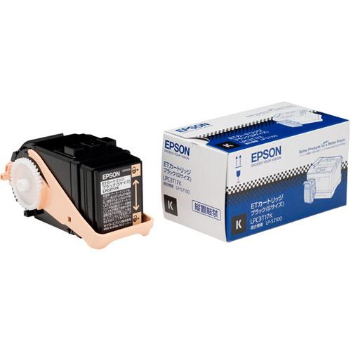 エプソン LPC3T17K [LP-S7100用 トナーカートリッジ/ブラック/Sサイズ(2200ページ)]