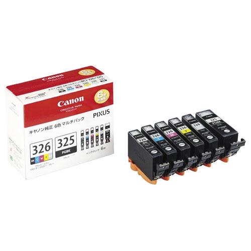 BCI-326+325/6MP マルチパック [インクタンク 4713B002]