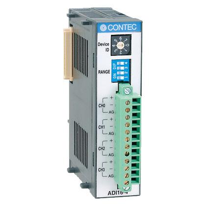 コンテック ADI16-4(FIT)GY [F&eIT 絶縁型高精度アナログ入力モジュール]