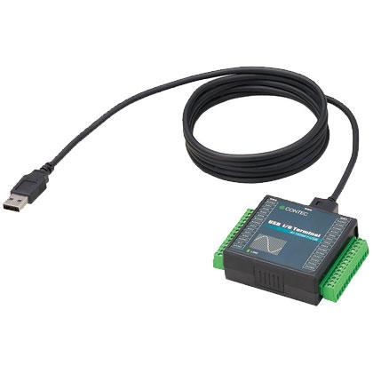 コンテック AI-1608AY-USB [USB2.0対応 高精度アナログ入力ターミナル]