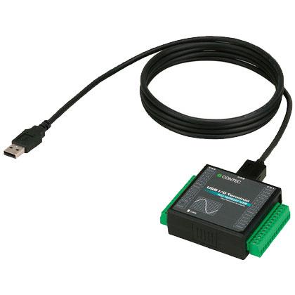 コンテック AIO-160802AY-USB [USB2.0対応 高精度アナログ入出力ターミナル]