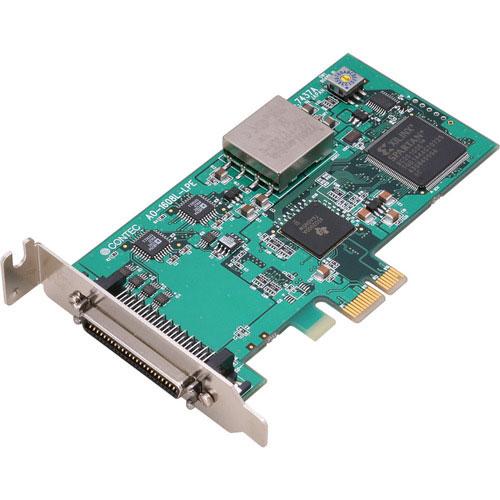 コンテック AO-1608L-LPE [PCI-E対応 16ビット アナログ出力ボード(LP) 8ch]
