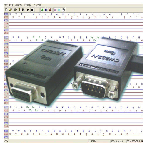 データリンク CW232/V-Black [RS232Cアナライザ]