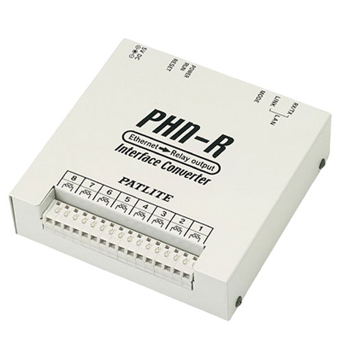 パトライト PHN-R [Ethernetインターフェースコンバータ (Ethernet>リレー)]
