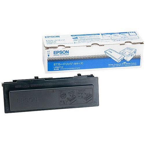 エプソン LPB4T12 [LP-S310/S210用 トナーカートリッジ/3000ページ対応]