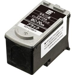 エレコム ECI-C70B-V [エコリカ リサイクルインク/キヤノン/BC-70対応]