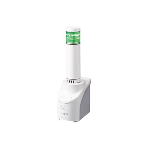 パトライト NH NHS-1FB1-G [ネットワーク監視表示灯 直径25mm/1段/緑]