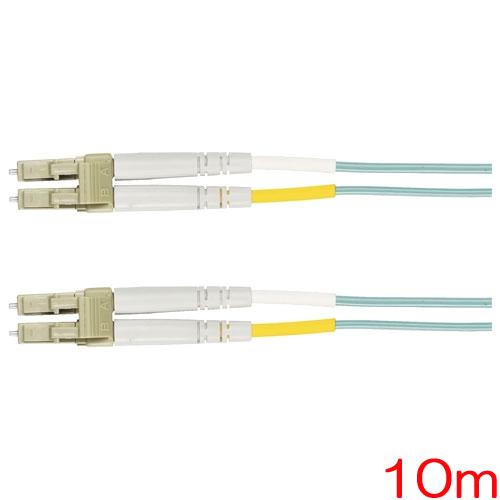 ブラックボックス・ネットワークサービス EFNT010-010M-SCLC [10Gb MM 50μファイバパッチケーブル PVC SC/LC 10m]