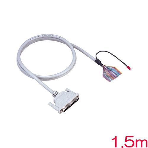 PCA37PS-1.5P [片端37ピンD-SUBコネクタ付シールドケーブル(1.5m)]
