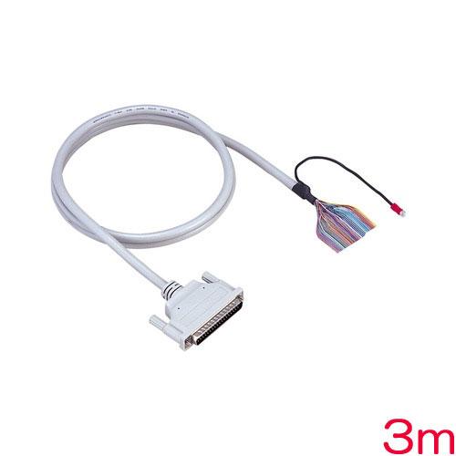 PCA37PS-3P [片端37ピンD-SUBコネクタ付シールドケーブル(3m)]
