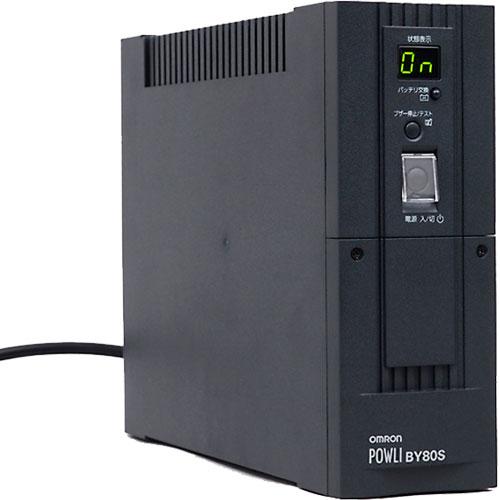 オムロン BY80S [UPS(常時商用給電/正弦波出力) 800VA/500W]