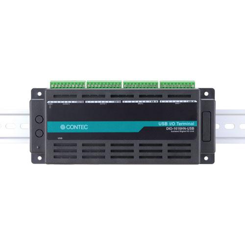 コンテック DIO-1616HN-USB [USB対応 Nシリーズ 絶縁型デジタル入出力ユニット]