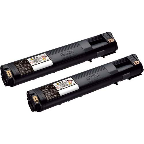 LPC3T21KPV [環境推進トナー/ブラック/Mサイズ2個パック(6200ページ×2)]
