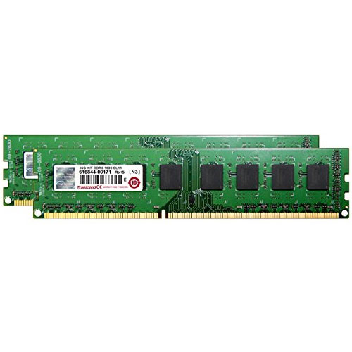 トランセンド JM1600KLH-16GK [DDR3-1600 DIMM CL11 2Rx8 Dual Channel Kit 8GB x2]