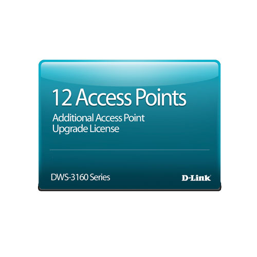 D-Link DWS-3160-24PC-AP12 [DWS-3160-24PC専用 AP12台管理ライセンス]