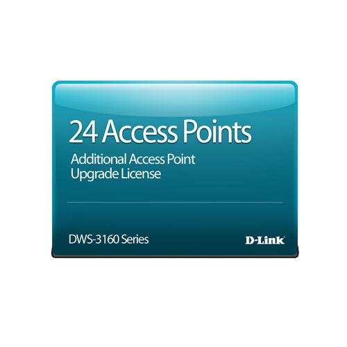 D-Link DWS-3160-24PC-AP24 [DWS-3160-24PC専用 AP24台管理ライセンス]