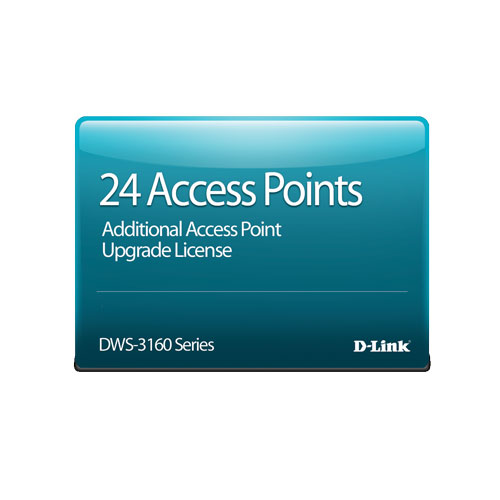 D-Link DWS-3160-24TC-AP24 [DWS-3160-24TC専用 AP24台管理ライセンス]