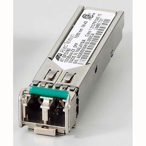 アライドテレシス XFP/SFP+/QSFP+/SFPモジュール 0125RZ5 [AT-SPZX80-Z5 SFP(mini-GBIC)モジュール]