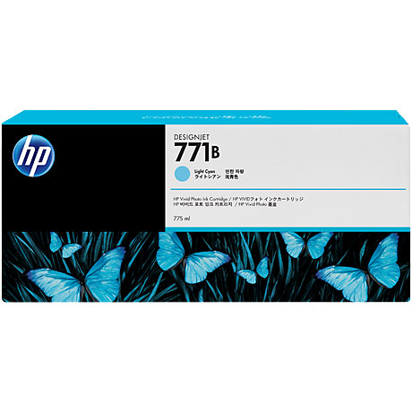 HP B6Y04A [771B インクカートリッジ ライトシアン]