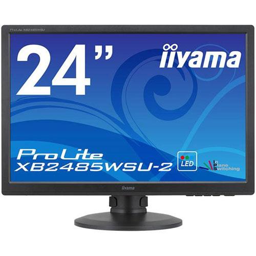 イーヤマ XB2485WSU-B2 [24.1型ワイド液晶ディスプレイ ProLite XB2485WSU-2(LED、IPS、WUXGA解像度)]