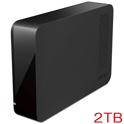 バッファロー HD-LC2.0U3-BK [ドライブステーション ターボPC EX2対応 USB3.0用 外付けHDD 2TB ブラック]