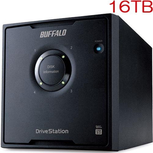 バッファロー HD-QH16TU3/R5 [ドライブステーション RAID 5対応 USB3.0用 外付けHDD 4ドライブモデル 16TB]