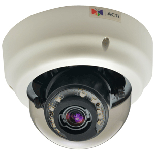ACTi Corporation B61 [5MP 屋内Zoomドームカメラ(D/N、Basic WDR)]