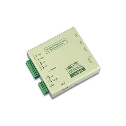 ラインアイ LA-485T [LAN接続型デジタルIOユニット+LAN<=>RS-422/485変換]