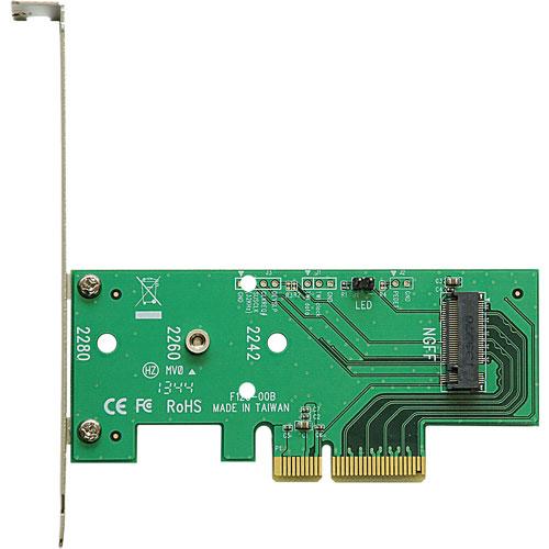 玄人志向 STANDARD M.2-PCIE [変換基板/M.2→PCI-Ex4]