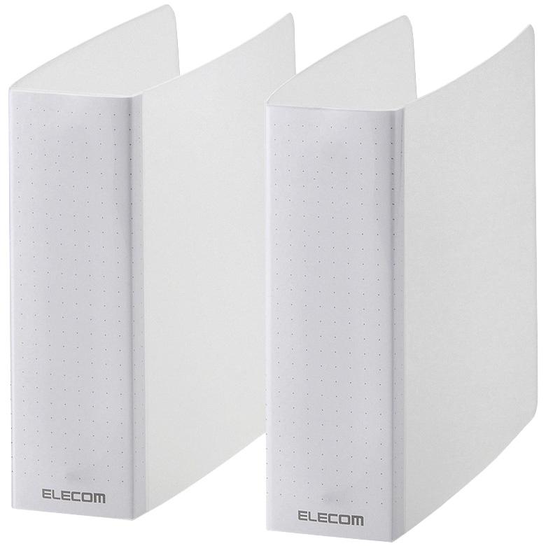 エレコム CCD-B01WCR [不織布ケース用バインダー/2冊セット/24枚/クリア]